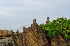 Rocks Pyramids At Sunrise On Phomthep Cape (Рассвет на мысе Phomtep, Phuket.)