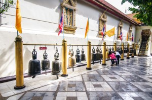 Doi Suthep Bells (Wat Prathat Doi Suthep, Чианг Май, Таиланд.)