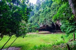 Entrance Into Tham Lod Cave System (Система пещер Tham Lod. Окрестности Пая, Таиланд.)