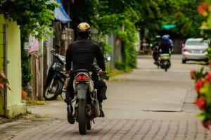 Policeman On Streets Of Chiang Mai (Улицы Чианг Мая.)