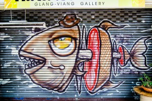 Streets Of Chiang Mai Graffity (Улицы Чианг Мая.)