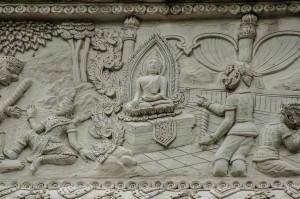 Wall Decor Wat Phan Waen (Wat Phan Waen, Чианг Май, Таиланд.)