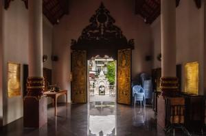 Wat Chang Taem Inside (Wat Chang Taem, Чианг Май, Таиланд.)