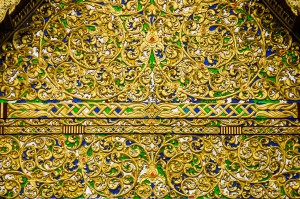 Wat Chediluang Varaviharn Vihan Entrance (Wat Chediluang Varaviharn, Чианг Май, Таиланд.)
