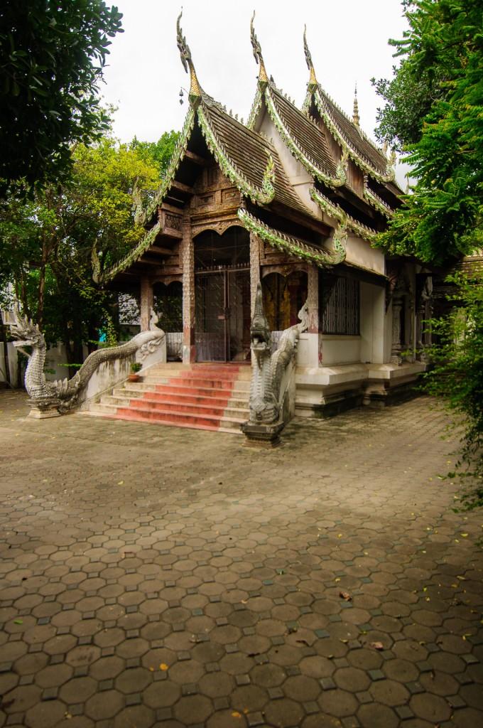 Wat Phan Waen Vihan (Wat Phan Waen, Чианг Май, Таиланд.)