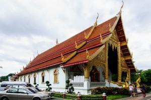 Wat Prasingh Chiang Mai Vihan From Side (Wat Prasingh, Чианг Май, Таиланд.)