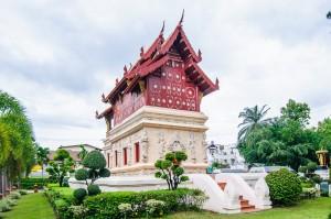 Wat Prasingh Hotrai (Wat Prasingh, Чианг Май, Таиланд.)