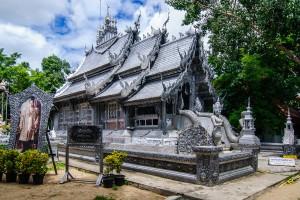 Бот в Wat Srisuphan, Чианг Рай.