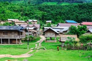 Laos Roads Rural Landcape (Дороги Лаоса. Из Бокео в Луангпхабанг.)