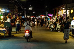 Streets Of Pai At Night (Улочки Пая.)