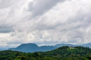 War Museum In Chiang Rai View Landscape (Какой-то военный музей в Чианг Рае.)