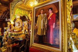 Wat Ming Muang Kings Family Portrait (Wat Ming Muang, Chiang Rai, Thailand.)