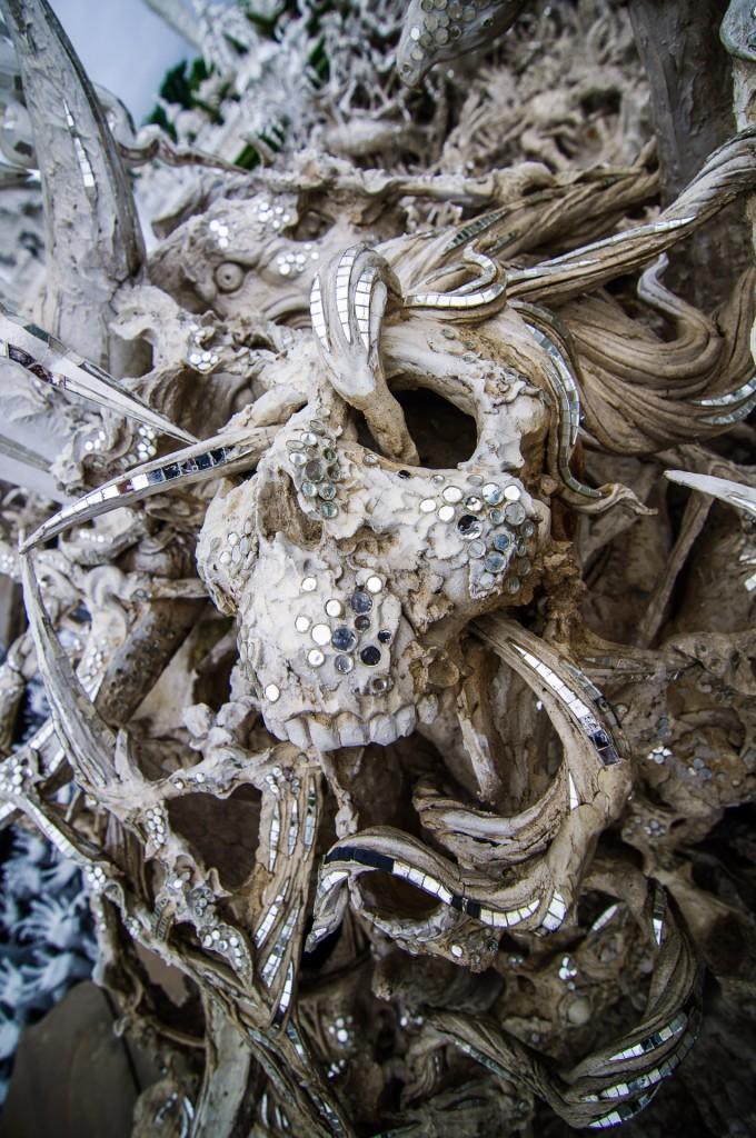 Отличный дизайн, Чалермчай! (Белый храм или Wat Rong Khun. Чианг Рай, Таиланд.)