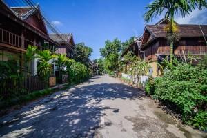 Luang Prabang Streets (Луангпхабанг, улицы и храмы.)