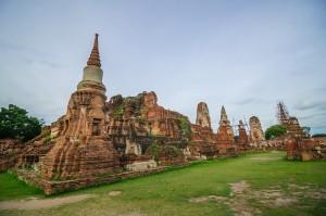 Cho Ostalos Ot Hrama Wat Maha That Ayuthaya Thailand (Wat Maha That, Айютайя, Таиланд.)