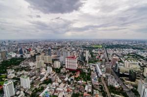 Another Wide Angle View From Bayoke 2 Tower (Baiyoke Tower II. Самое высокое здание Таиланда.)