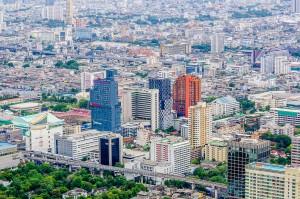 As Seen From Bayoke 2 Tower 2 (Baiyoke Tower II. Самое высокое здание Таиланда.)