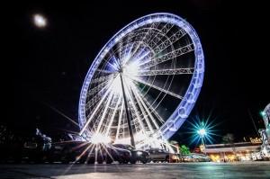 Asiatique The Riverfront Ferris Wheel (Колесо обозрения Asiatique Sky.)