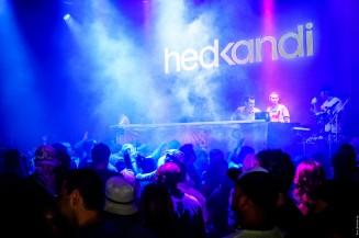 Hed Kandi residents DJ Stu Ojelay & Gilo on percussion @ Seduction Beach Club & Disco, Patong, Phuket / 21.03.2014