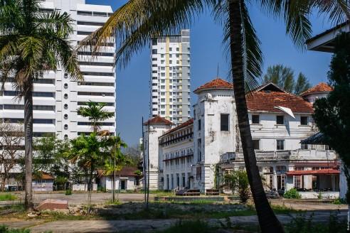 Заброшеные здания Пенанга.