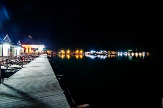 Ночной Чео Лан. Рафт-хаус Sai Chon.