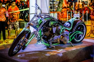 Phuket bike week 2014. Custom bikes.