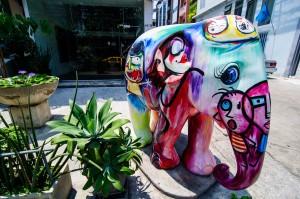 Streets Of Bangkok Another Art Elephant 02 (Парк Benjakiti и улицы Бангкока.)