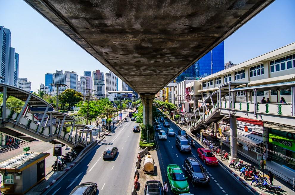 Дороги Бангкока.