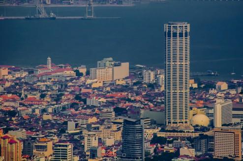 Вид со смотровой площадки на Пенанг. После лайтрума, то что я хотел бы видеть. )