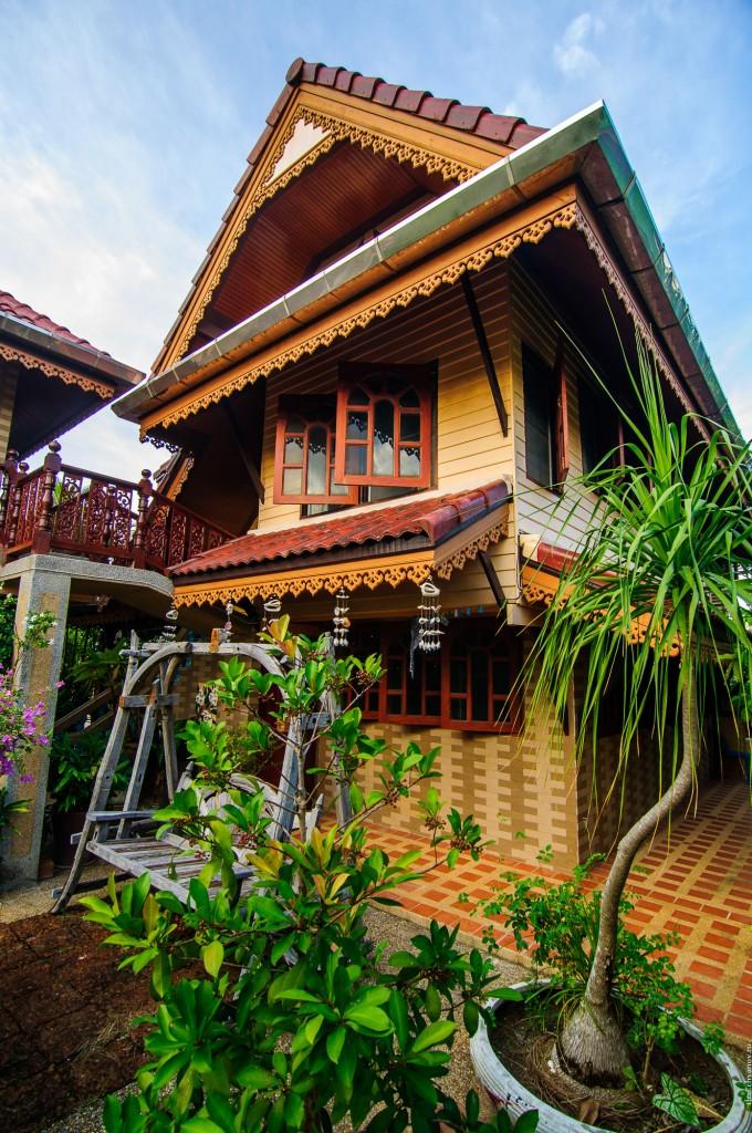 Our House In Thailand Main Building (Дом в котором я живу.)