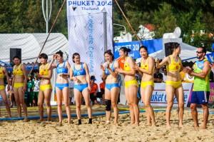 (4th Asian Beach Games. Пляжный гандбол. Таиланд — Китай.)