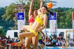 (4th Asian Beach Games. Пляжный гандбол. Таиланд – Китай.)