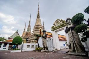 (Храм лежащего Будды, Wat Pho, Bangkok.)