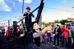 """Фестиваль """"Яркие люди"""", Москва, 2012."""