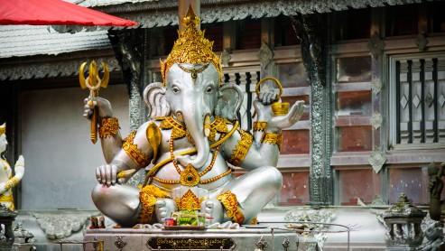 Ганеша Серебрянного храма, Чианг Май.