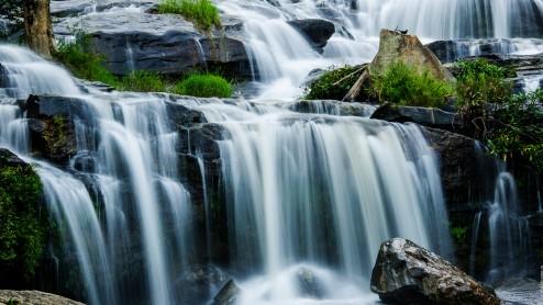 Водопад Mae Ya, нац. парк Doi Inthanon, Чианг Рай