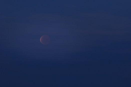 Полное лунное затмение, 4 апреля 2015.