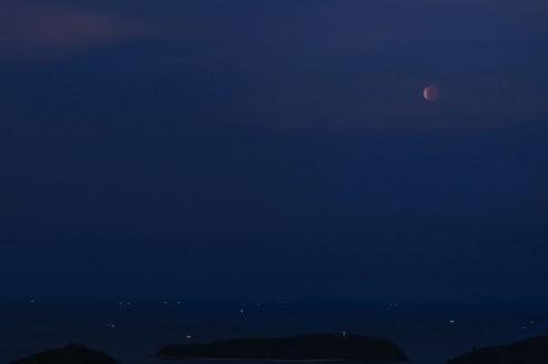 Лунное затмение, 4 апреля 2015.