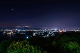 Вид с Khao Khad Views Tower на Пхукет-Таун.