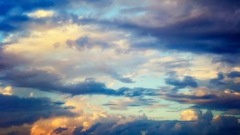Утренние небеса.