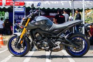 Yamaha. (Phuket Bike Week 2015 днём на Сапан Хине.)