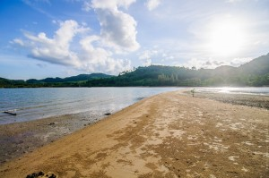 Вид на Яо Ной с острова Koh Nok (Остров Ко Яо Ной)