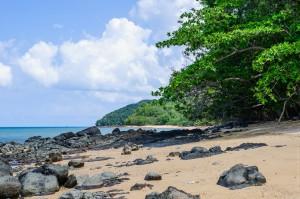 Пляж местами такой (Остров Ко Яо Ной)