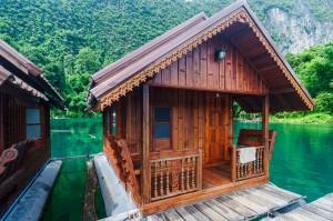 Домик с удобствами (Озеро Чео Лан и рафт-хаус Сай Чол.)