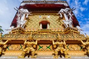 Основание ступы Wat Bang Riang