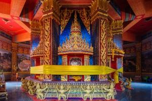 Внутреннее помещение ступы с реликвией (Wat Bang Riang (он же Wat Rat Upatham))